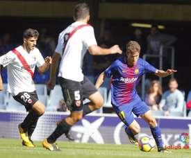 El Sevilla Atlético derrotó al Barcelona. LaLiga