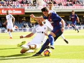 Reparto de puntos en el Mini Estadi. FCBarcelonaB