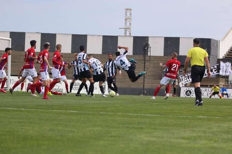 Dopico anotó el tanto de la victoria. Twitter/RealBalompédicaLinense