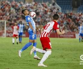 El Almería se vengó de la derrota liguera a manos del Málaga hace ochos días. LaLiga