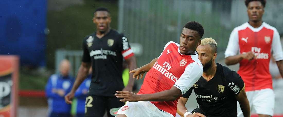 El Arsenal dominó en la segunda mitad. ArsenalFC