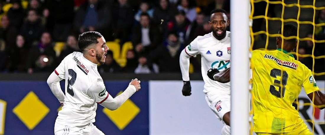 El Lyon venció. Twitter/OL