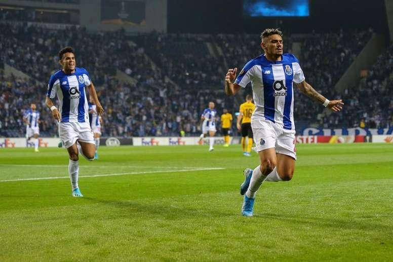 El Porto-Young Boys, bajo la mirada de los españoles. Twitter/FCPorto