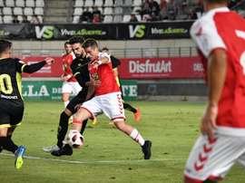 El Murcia perdió su primer partido. RealMurcia
