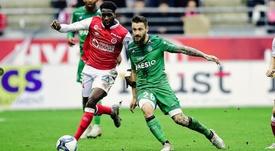 Nantes y Reims se reencuentran con el triunfo. Twitter/ASSEofficiel