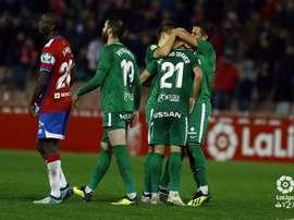 El Sporting se llevó la victoria del Nuevo Los Cármenes. LaLiga