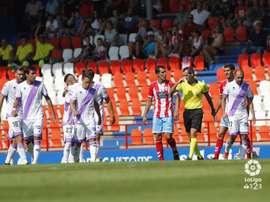 El Numancia se enfrentará a Las Palmas este sábado. LaLiga