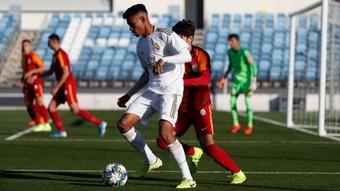 El partido del Real Madrid en la Youth League no peligra. Twitter/lafabricarm