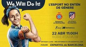 El RCDE Stadium apunta al lleno en el Espanyol-Atlético. @RCDEFemeni