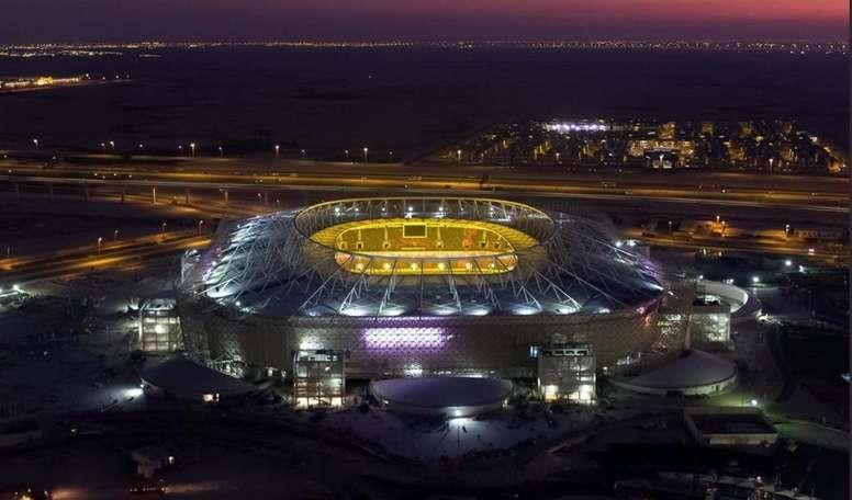 Le stade Al-Rayyan est presque prêt pour le Mondial ! Twitter/roadto2022