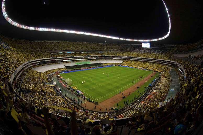 El Estadio Azteca pierde espectadores. ClubAmerica