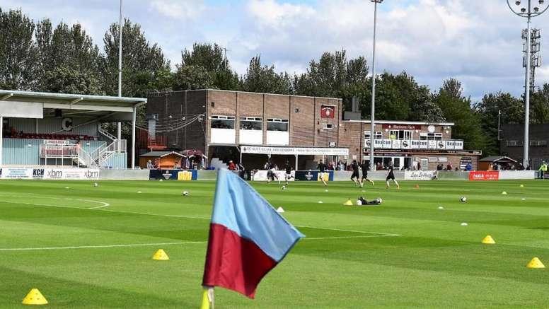 El South Shields denunciará a la FA por la anulación del campeonato. Twitter/SouthShieldsFC