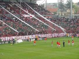 Imagen del estadio Dr. Constantin Rădulescu. CFRCluj
