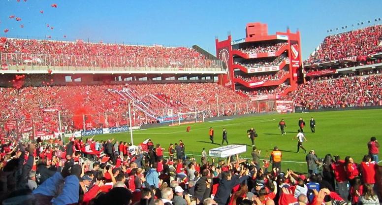O provável futuro nome do estádio do Independiente. Independiente