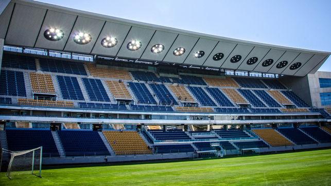 El Cádiz ha homenajeado a un histórico ex futbolista. EFE/Archivo