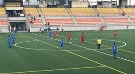 1-1 entre Estepona y El Palo. Twitter/ElPaloFC