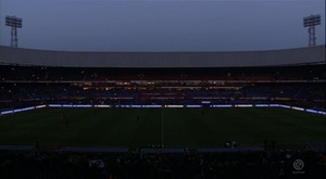 El duelo tuvo que ser aplazado por un apagón hace un mes. Eredivisie