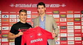 El Spartak de Moscú se hace con Ezequiel Ponce. FCSM_Official