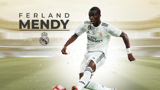 Ferland Mendy é novo reforço do Real Madrid. BeSoccer