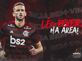 Leo Pereira has moved to Flamengo. Twitter/Flamengo
