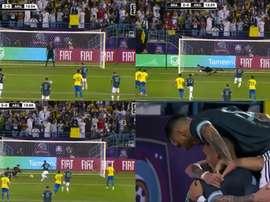Messi ritrova la rete. DAZN/ES