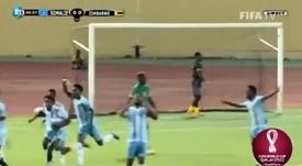 Somalia ganó su primer partido de clasificación para un Mundial. Captura/FIFATV