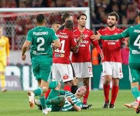 El Spartak de Moscú no anda nada fino. FCSM_Official