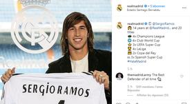 L'emozionante video dei 14 anni di Ramos al Real Madrid. RealMadrid