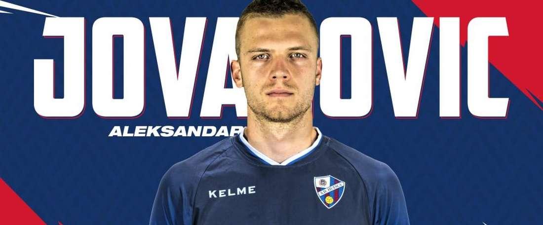 Le Serbe a signé avec le club trois saisons. SDHuesca