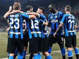 El Inter venció por la mínima al Udinese. Twitter/Inter