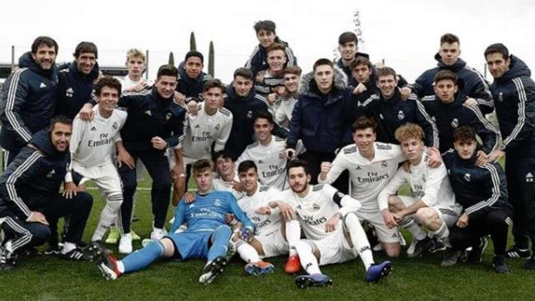 El conjunto blanco se proclamó campeón a falta de cuatro jornadas. Instagram/RaúlGonzález