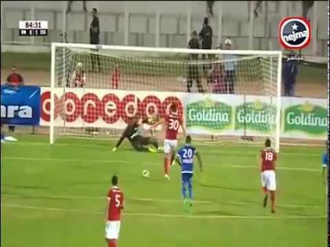 Imagen del lanzamiento de penalti del Etoile du Sahel ante el Olympique de Marsella. Youtube
