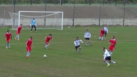 Imagen del Lokomotiv de Tblisi, durante un partido. FCLoco