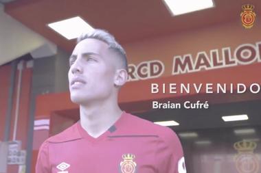 Brian Cufré ya es del Mallorca. RCD_Mallorca