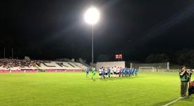 El Molde sale de Serbia con la clasificación bajo el brazo. MoldeFK