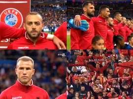 La UEFA punirà la Francia per l'errore nell'inno albanese. RTK1