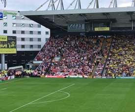 Victoria para el Sunderland. Twitter/Sunderland