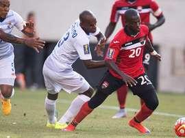 Panamá tuvo que llegar a la tanda de penaltis para batir a Trinidad y Tobago. Twitter