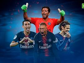 PSG é oficialmente o campeão da Ligue 1. BeSoccer