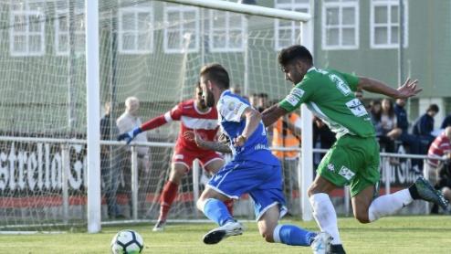 El conjunto gallego se llevó el partido con contundencia. Deportivo