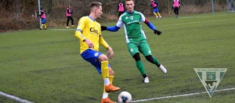 El Vlasim venció 10-0. FCSBVlasim