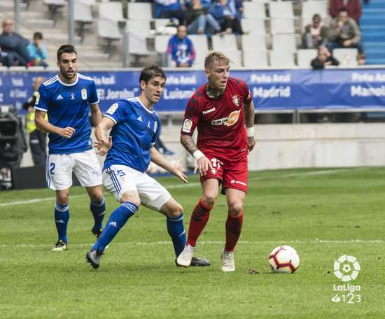 El Oviedo es uno de los equipos sin expulsiones. LaLiga