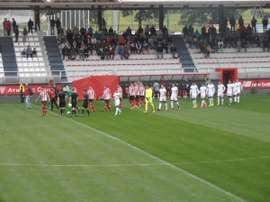 El filial rojiblanco empató a uno ante el Sporting B. AthleticClub