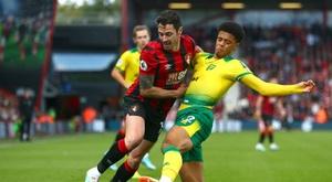 Bournemouth y Norwich City empataron a cero. Twitter/afcbournemouth