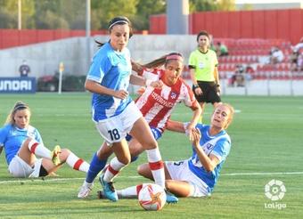 El Atlético Femenino goleó al Rayo en la primera jornada de Liga. LaLiga
