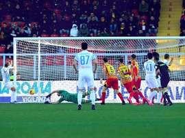 El Lecce venció al SPAL. Twitter/spalferrara