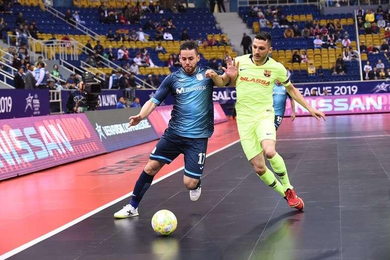 335248a3a7b Pin El Barça Lassa venció por 1-3 al Inter Movistar. Twitter/InterMovistar