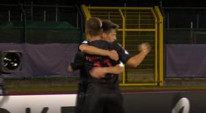 Croacia e Inglaterra empataron a tres. Captura/Mediaset