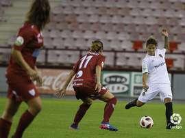 Logroño y Valencia empataron a cero. LaLiga