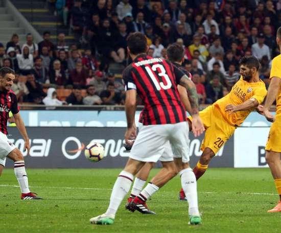 O Milan conseguiu sua primeira vitória no Italiano. AFP